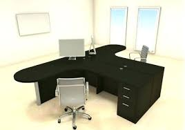 t shaped office desk. Computer Office Desk T Shaped For Two People Home L Sale De F