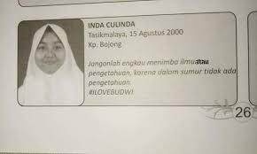 Par maxime k publié le 16 déc 2020 à 12h35. 10 Quotes Anak Sekolah Di Buku Tahunan Ini Bikin Ngakak Berjamaah Gemes Dek Yukepo Com