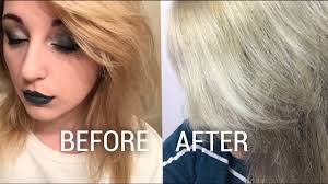 Shimmer Lights Shampoo Before And After Shimmer Lights Shampoo Before And After