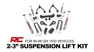 Rough Country's 2-3 Inch Suspension Lift for 88-98 GM 1500 ...