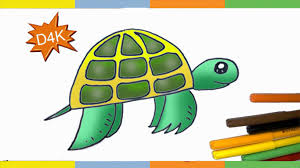 Small Picture How to draw a turtle step by step for kids How To Draw EASY