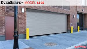Garage Door overhead garage doors photos : Springless Rolling Service Door - EverServe from Overhead Door ...