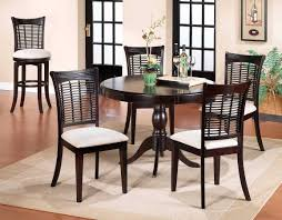 hilale bayberry round dining collection dark cherry