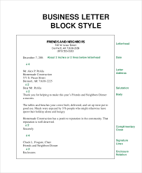Simple Business Letter Format 8 Sample Business Letter Formats Pdf Word