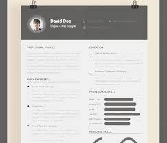 Unique Illustrator Resume Template Free Download Best Free Resume