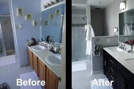 bathroom remodel before and after fine on within master renovation good 23 master bathroom remodels before and after t48 remodels