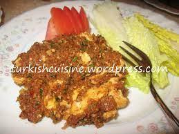Yumurtalı köfte / Spicy Egg & Bulgur Kofte – Turkish Cuisine