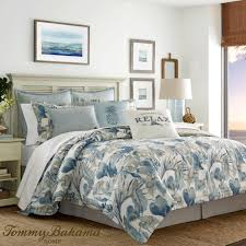 home design enchanting raw coast blue tropical comforter bedding tommy bahama in enchanting tropical bedding