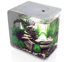 biOrb Flow 15 Litre Silver Fish Tank Aquarium
