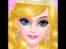salon games royal princess makeup salon game android apps on google play