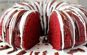 Red Velvet Sour Cream Bundt Cake Your Cup Of Cake
