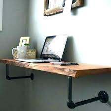 wall mounted corner desk ikea diy floating