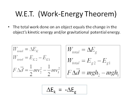 Work Energy Theorem Magdalene Project Org