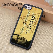 Harry Potter Always Quote Cool MaiYaCa Snape Always Quote Harry Potter Phone Cases For IPhone 48 48s