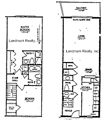 townhouse floor plan for summerhouse condo crescent beach florida