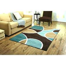 blue and brown rug blue brown rug modern turquoise and area rugs inside carpet orange attractive