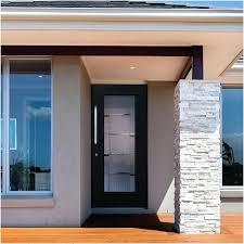 destination door glass front doors with side panels modern