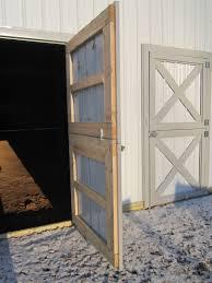 Dutch Barn Door Plans Pole Barn Doors And Windows Pole Barns Direct