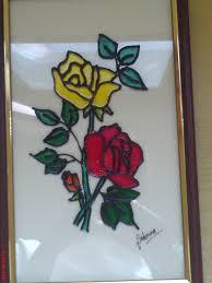 simple glass painting designs beginners