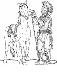 Coloring Pages Of Native American Tribes At Getdrawingscom Free