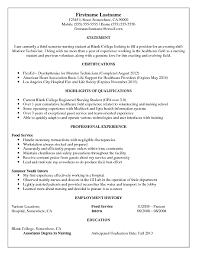 Sample Resume: Resume For Healthcare Field Monitor Technician.