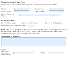 request for order form print flower request order form mt zion united methodist church