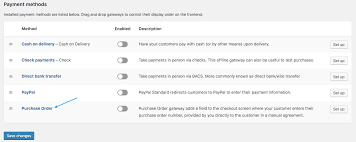What Is A Purchase Order Number Woocommerce Purchase Order Gateway Woocommerce Docs