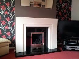 fireplace and granite surround thickness