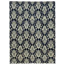 west elm ikat rug amazing home alluring blue rug of river hand knotted swatch gray blue