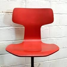 red leather office chair. Red Desk Chair Mid Century By For Fritz Leather Office Canada .
