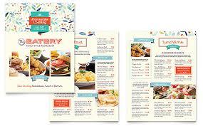 Microsoft Word Restaurant Menu Template Awesome Family Restaurant Menu Template Word Publisher