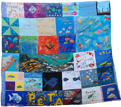 World's First Fish Empathy Quilt | PETA & ... the world's first Fish Empathy Quilt. More than 100 squares have  already been created by kind people across the country, and we want to keep  it growing! Adamdwight.com