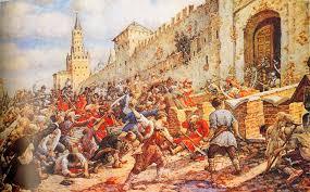 Преодоление Смуты и укрепление российской государственности  Лисснер Э Соляной бунт на Красной площади 1648 г 1930 е гг