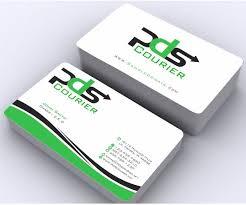Masculine Serious Business Business Card Design For Pds Courier By