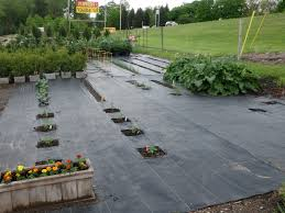 garden weed control matting home outdoor decoration with vegetable barrier and cloth using fabric gardeners supply