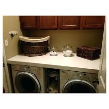 a laundry room countertop diy over washer dryer