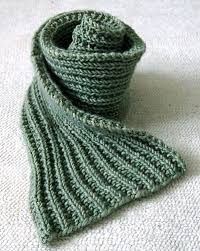 Mens Scarf Knitting Pattern