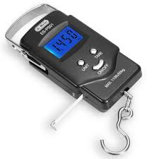 2 this digital lcd display hanging hook scale for weighing and mering your catch