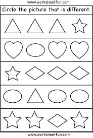 3d Shapes Worksheets Shape Identify Simple ~ Koogra
