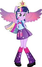 Equestria Girls Twilight Sparkle Rainbowfied By