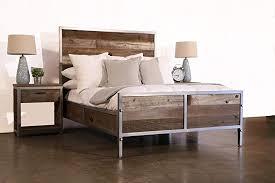 Amazon.com: Modern Reclaimed Wood Bedroom Set: Handmade