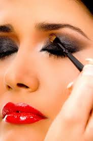 strapped in silk forced feminization thin eyebrows makeup makeover learn makeup long nails