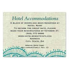 Hotel Accommodations Cards Accommodation Cards For Wedding Invitations Wedding Invitations Card