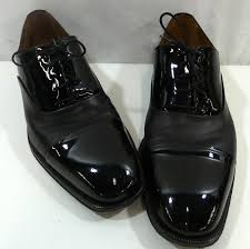 magnanni patent leather oxford dress shoes 10m