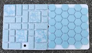 bathroom floor tile blue. Blue-floor-tiles-vintage-ceramic Bathroom Floor Tile Blue