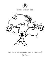 Small Picture NEW Custom Coloring Pages Biffs Fitness Yukon Mustang Gym