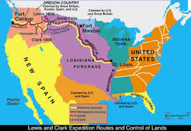 along western trails part the lewis and clark expedition  lewis and clark expedition