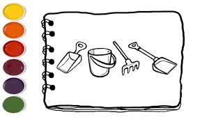 Tranh tô màu nghề nông đẹp nhất và những dụng cụ cho bé tập tô