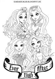 Small Picture Get This Ever After High Coloring Pages for Girls HYI98