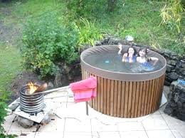larch wooden hot tubs diy wood fired tub build your own ekipe co